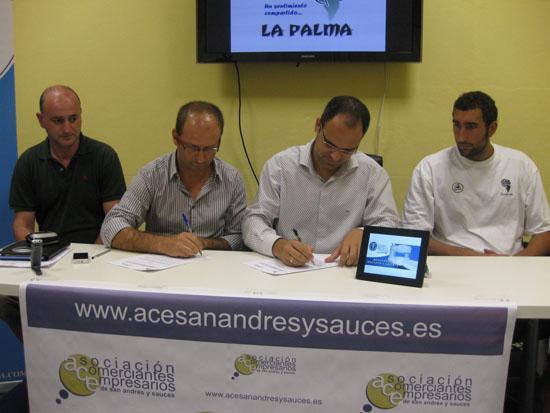 Convenios de colaboraci n ace san andr s y sauces for Convenio oficinas y despachos tenerife